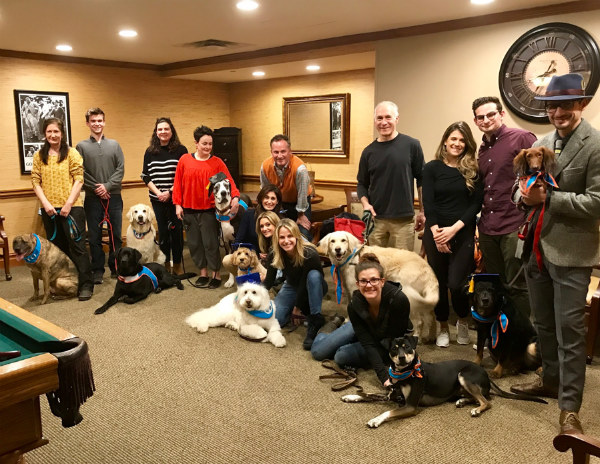 A graduating Therapy Skills class in Westchester, NY