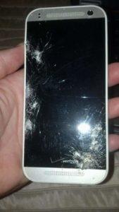 Tabitha Smashed Screen